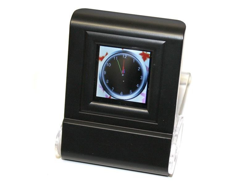 Digitaler Bilderrahmen Uhr Digitaler Bilderrahmen Mit