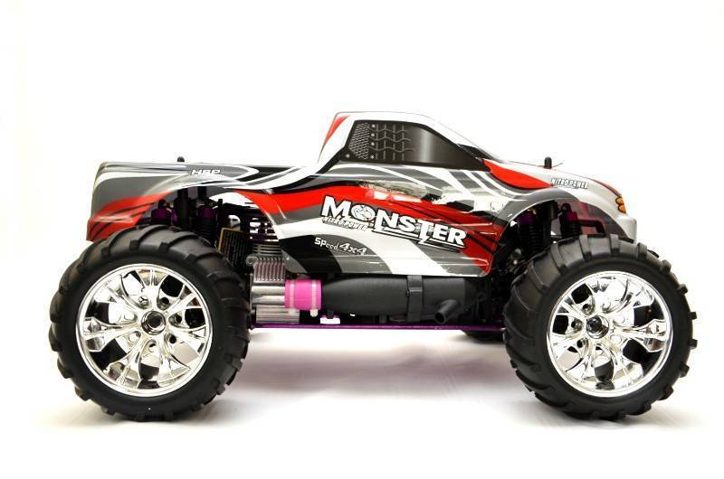 offroad rc truck verbrenner monstertruck hsp monster 3. Black Bedroom Furniture Sets. Home Design Ideas