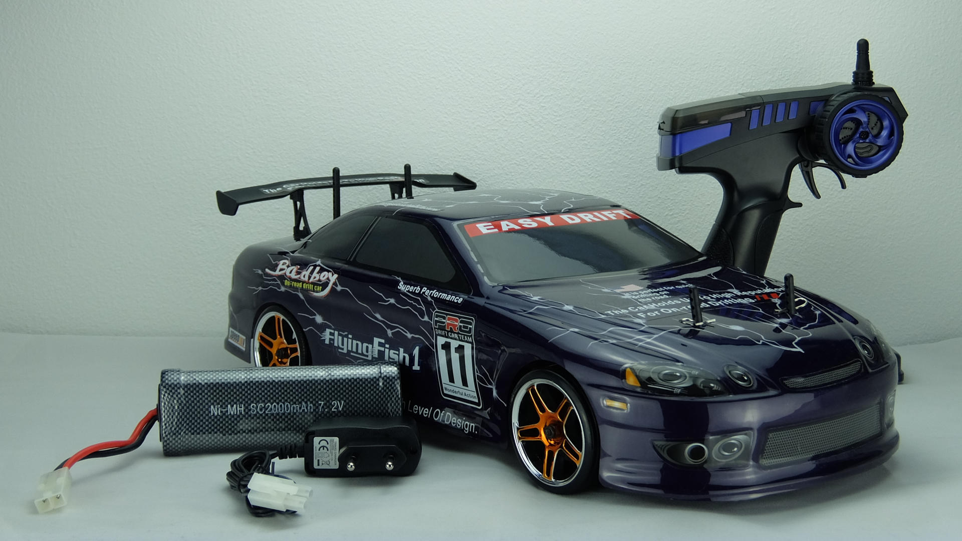 ferngesteuertes auto onroad rc drift car hsp flying fish. Black Bedroom Furniture Sets. Home Design Ideas