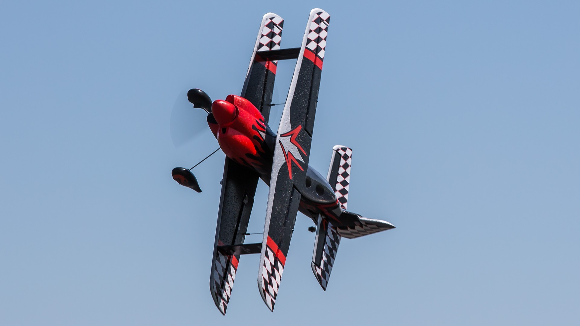 stunt flugzeug