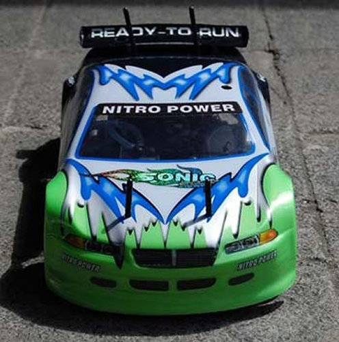 "RC Verbrenner Auto Onroad Car ""HSP Sonic"" 2,5ccm 1:10 2,4GHz"