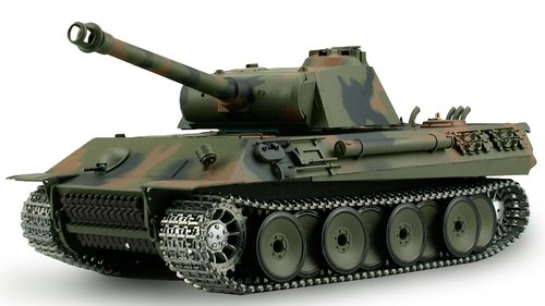 "RC Panzer ""German Panther"" 1:16 von Heng Long - Pro-Version"
