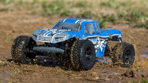 ECX AMP MT 1:10 2WD RTR Monster Truck RTB Kit