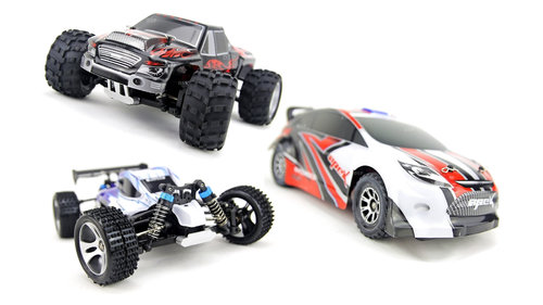 RC Funrace 01 Mini Offroad Car 1:18 4WD 2,4GHz