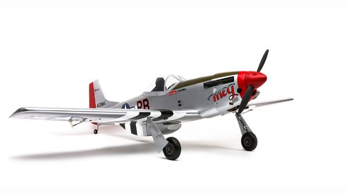 P-51 Mustang 8cc Benziner-Trainer BNF mit SAFE und AS3X Technologie