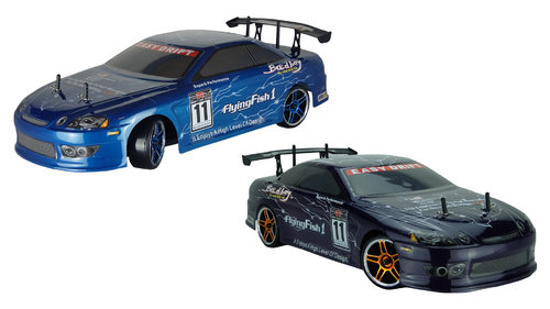 "RC Auto Drift Car ""HSP Flying Fish"" 1:10 2,4GHz 4WD"