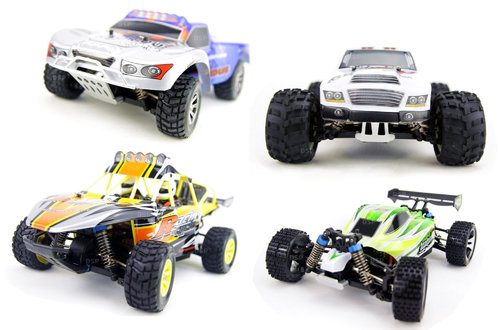 RC Funrace 01S Mini Offroad Car 1:18 4WD 2,4GHz