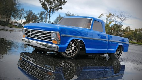 Vaterra 1968 Ford F-100 Pickup 4WD 1:10 2,4GHz RTR