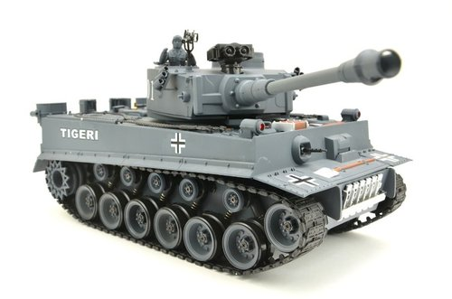 "RC Panzer ""German Tiger I"" Grau 1:20"