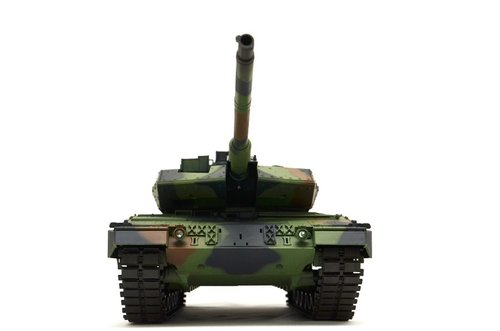 "RC Panzer ""German Leopard 2A6"" 1:16 2,4GHz Metallgetriebe"