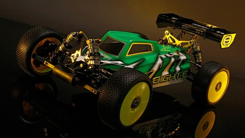 RC Buggy TLR 8IGHT-E 4.0 1:8 4WD Race Kit