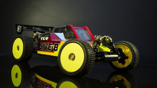 RC Buggy TLR 5IVE-B 1:5 4WD Benziner Race Kit