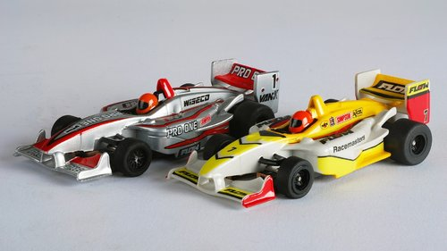 AFX Slotcar-Set Formula Cars (MG+, 2 Stk.)