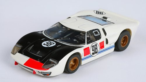 AFX Slotcar Ford GT40 #98 Daytona, Clear (MG+)